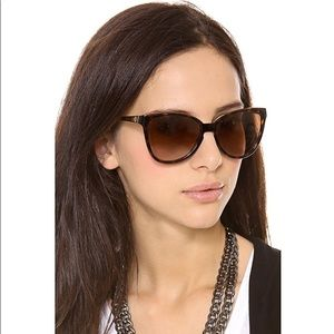 Tory Burch foldable sunglasses